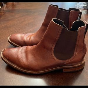 Cole Haan Nike Ankle Leather Boots sz 12